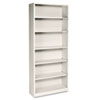 Hon Metal Bookcase, 6 Shelves, 34-1/2w x 12-5/8d x 81-1/8h, Putty (HONS82ABCL)
