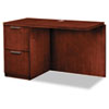 Hon Arrive Left Return For Right Pedestal Desk, 48w x 24d x 29-1/2h, Henna Cherry (HONVW182LC1Z9JJ)
