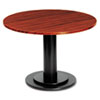 Iceberg OfficeWorks 36 Round Conference Table Top, Square Edge, Mahogany (ICE69138)