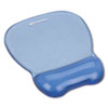 Innovera Gel Mouse Pad w/Wrist Rest, Nonskid Base, 8-1/4 x 9-5/8, Blue (IVR51430)