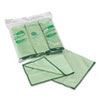 Kimberly-Clark Professional* WYPALL Cloths w/Microban, Microfiber 15 3/4 x 15 3/4, Green, 6/Pack (KIM83630)