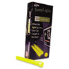 Miller's Creek Snaplights, 6l x 3/4w, Yellow, 10/Pack (MLE151849)