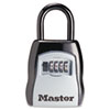 Master Lock Locking Combination 5-Key Steel Box, 3 1/2w x 1 5/8d x 4h, Black/Silver (MLK5400D)