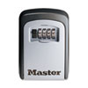 Master Lock Locking Combination 5-Key Steel Box, 3 7/8w x 1 1/2d x 4 5/8h, Black/Silver (MLK5401D)