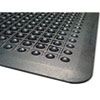 Guardian Flex Step Rubber Anti-Fatigue Mat, Polypropylene, 24 x 36, Black (MLL24020300)