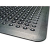 Guardian Flex Step Rubber Anti-Fatigue Mat, Polypropylene, 36 x 60, Black (MLL24030500)