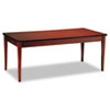 Mayline Luminary Series Wood Veneer Table Desk, 72w x 36d x 29h, Cherry (MLNLTD72C)