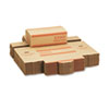 Mmf Industries Corrugated Cardboard Coin Transport Box, Lock, Orange, 50 Boxes/Carton (MMF240142516)