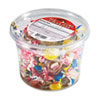 Office Snax All Tyme Favorite Assorted Candies and Gum, 2lb Plastic Tub (OFX00002)