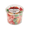 Office Snax Assorted Fruit Slices Candy, Individually Wrapped, 2lb Plastic Tub (OFX00005)