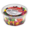 Office Snax Jelly Beans, Assorted Flavors, 2lb Tub (OFX70013)