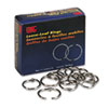 Officemate Officemate Book Rings, 1, 100/Box (OIC99701)