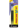 Pilot Refill for Precise V7 RT Rolling Ball, Fine Black Ink, 2/Pack (PIL77278)