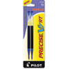 Pilot Refill for Precise V7 RT Rolling Ball, Fine, Blue Ink, 2/Pack (PIL77279)