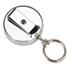 Securit Pull Key Reel Wearable Key Organizer, Stainless Steel (PMC04990)