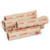 Pm Company Preformed Tubular Coin Wrappers, Pennies, $.50, 1000 Wrappers/Carton (PMC65029)