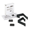 Quartet Cubicle Partition Hangers, Black, 2/Set (QRTMCH10)