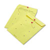 Quality Park Colored Paper String & Button Interoffice Envelope, 10 x 13, Yellow, 100/Box (QUA63576)