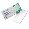 Quality Park White Wove Business Envelope Convenience Packs, V-Flap, #10, 50/Box (QUA69016)