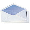 Quality Park White Wove Security Business Envelope Convenience Packs, V-Flap, #10, 40/Box (QUA69017)