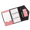 Rolodex Resilient Business Card Book, Faux Leather, Pink (ROL1734452)