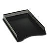 Rolodex Distinctions Self-Stacking Desk Tray, Metal/Black (ROLE22615)