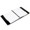Rolodex Business Card Binder with A-Z Tabs Holds 200 2 1/4 x 4 Cards, Black (ROL66451)