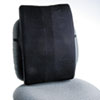 Safco Remedease Full Height Backrest, 14 x 3 x 20, Black (SAF71301)