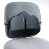 Safco Softspot Low Profile Backrest, 13-1/2w x 3d x 11h, Black (SAF7151BL)