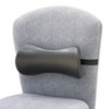 Safco Lumbar Support Memory Foam Backrest, 14-1/2w x 3-3/4d x 6-3/4h, Black (SAF7154BL)