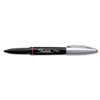 Sharpie Grip Porous Point Stick Permanent Water Resistant Pen, Red Ink, Fine (SAN1758057)