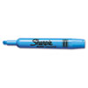 Sharpie Accent Tank Style Highlighter, Chisel Tip, Blue, 12/Pk (SAN25010)