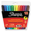 Sharpie Permanent Markers, Ultra Fine Point, Assorted, 12/Set (SAN37172)