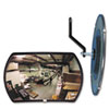 See All 160 degree Convex Security Mirror, 18 w x 12 h (SEERR1218)