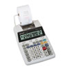 Sharp EL1750V LCD Two-Color Printing Calculator, 12-Digit LCD, Black/Red (SHREL1750V)