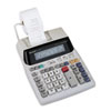 Sharp EL1801V Two-Color Printing Calculator, 12-Digit Fluorescent, Black/Red (SHREL1801V)