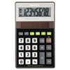 Sharp EL-R277BBK Recycled Series Handheld Calculator, 8-Digit, LCD, Black (SHRELR277BBK)