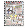 Scholastic Instant Personal Poster Sets, Read All About Me, 17 x 22, 30/Pack (SHS0439152852)