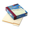 Smead File Folders, 1/3 Cut Assorted, One-Ply Top Tab, Letter, Manila, 100/Box (SMD10330)