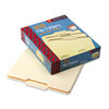 Smead File Folders, 1/3 Cut Second Position, One-Ply Top Tab, Letter, Manila, 100/Box (SMD10332)