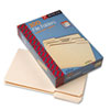 Smead 1/3 Cut Assorted Position File Folders, One-Ply Top Tab, Legal, Manila, 100/Box (SMD15330)