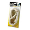 Softalk Coiled Phone Cord, Plug/Plug, 25 ft., Ivory (SOF42265)