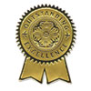 Southworth Gold Foil Certificate Seals, Excellence, Embossed Foil , 12/Pack (SOUS1)