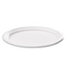 Naturehouse Bagasse Oval Plate, 9 x 6-1/2, White, 125/Pack (SVAP009)