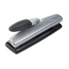 Swingline 20-Sheet Light Touch Desktop Two- or Three-Hole Punch, 9/32 Hole (SWI74030)
