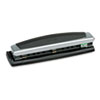 Swingline 10-Sheet Precision Pro Desktop Two- and Three-Hole Punch, 9/32 Holes (SWI74037)