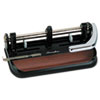Swingline 40-Sheet Heavy-Duty Lever Action Two- to Seven-Hole Punch, 11/32 Holes (SWI74400)