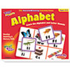 Trend Alphabet Match Me Puzzle Game, Ages 4-7 (TEPT58101)