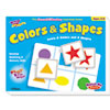 Trend Colors and Shapes Match Me Puzzle Game, Ages 4-7 (TEPT58103)