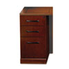 Mayline Sorrento Series Pencil/Box/File Pedestal For Credenza Top, Bourbon Cherry (MLNSCPBFSCR)